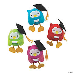 Graduation Stuffed Owls