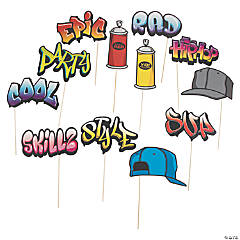 Graffiti Photo Stick Props