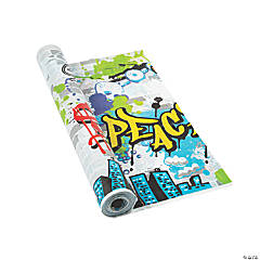 Graffiti Tablecloth Roll