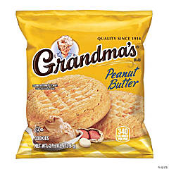 Grandma's Big Cookie Peanut Butter, 2.5 oz, 60 Count