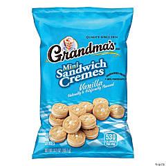 Grandma's Mini Sandwich Cremes Vanilla, 3.71 oz, 24 Count