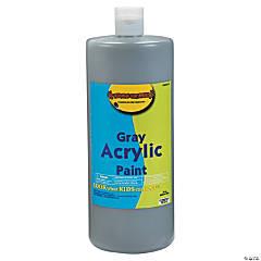 Gray Acrylic Paint