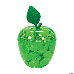 Green Apple Favor Containers