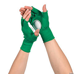 Green Clapping Gloves