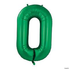 Green Deco Link Mylar Balloon