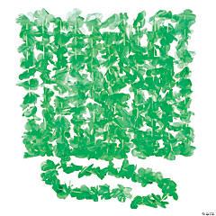 Green Flower Leis