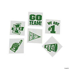 Green Go Team Tattoos