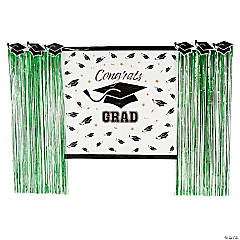 Green Grad Backdrop Decorating Kit