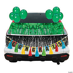 Green Graduation Car Parade Decorating Kit