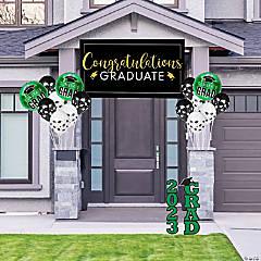 Green Graduation Outdoor Decorating Kit