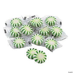 Green Hard Candy Discs