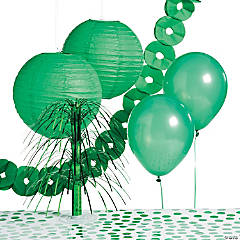 Green Party Decorating Kit