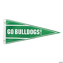 Green Pennant Custom Banner