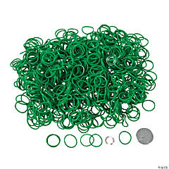 Green Rubber Fun Loops Refill