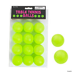 Green Table Tennis Balls