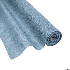 Grey Embossed Floral Gossamer Roll