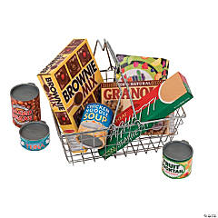 Grocery Basket With Food