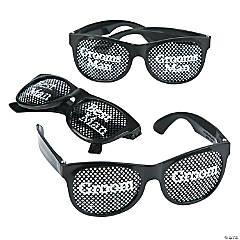 Groom's Party Pinhole Glasses