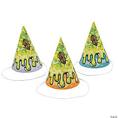 Gross Slime Cone Party Hats