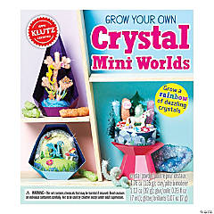 Grow Your Own Crystal Mini Worlds Book Kit