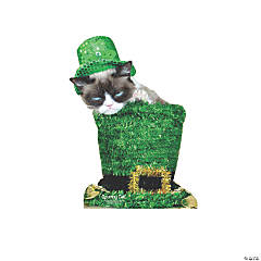 Grumpy Cat St. Patrick's Day Stand-Up