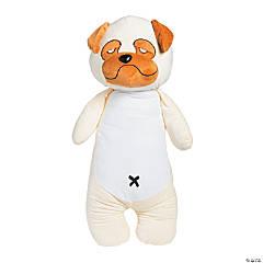 Grumpy Stuffed Dog