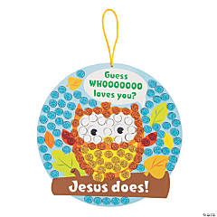 Guess Who Loves You Mosaic Owl Craft Kit