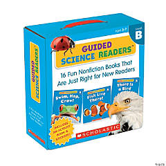 Guided Science Readers Parent Pack: Level B, 16 Books