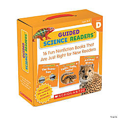 Guided Science Readers Parent Pack - Level D, 16 Books