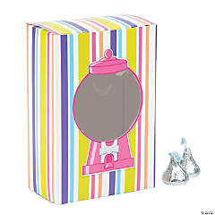Gumball Favor Boxes