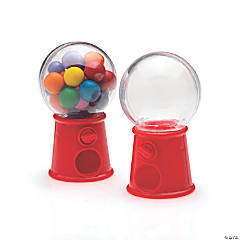Gumball Favor Containers