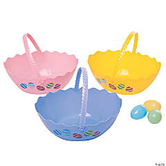 Half Easter Egg Baskets
