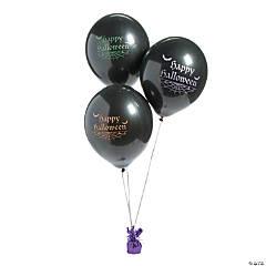 "Halloween 11"" Latex Balloons"