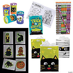 Halloween Activity Boo Bag Kit for 48