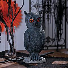 Halloween Animated Owl Halloween Decoration