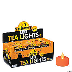 Halloween Battery-Operated Tea Light Candles