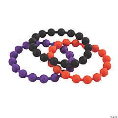 Halloween Bead Rubber Bracelets