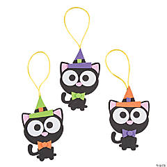 Halloween Black Cat Ornament Craft Kit