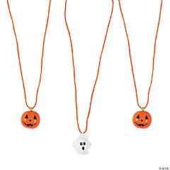 Halloween Blinking Necklaces