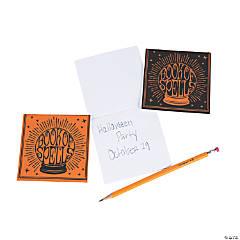 Halloween Book of Spells Notepads