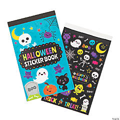 Halloween Books of Stickers
