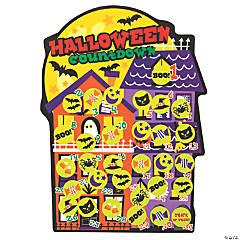 Halloween Calendar Sticker Scenes