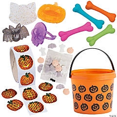 Halloween Candy Bucket Kit for 12