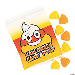 Halloween Candy Corn Poop Gummy Candy Fun Packs