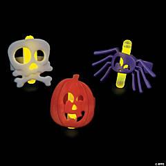 Halloween Character Glow Rings