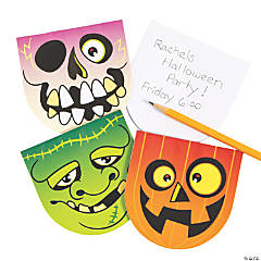 Halloween Character Notepads