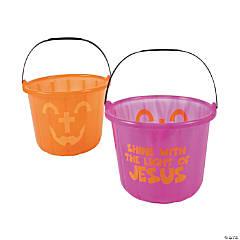 Halloween Cross Buckets