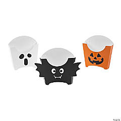 Halloween French Fries Boxes - 12 Pc.