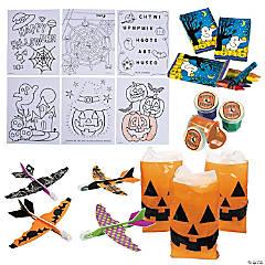 Halloween Fun Boo Bags Kit for 48