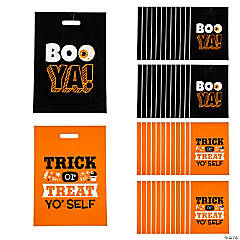 halloween funny sayings trick or treat goody bags